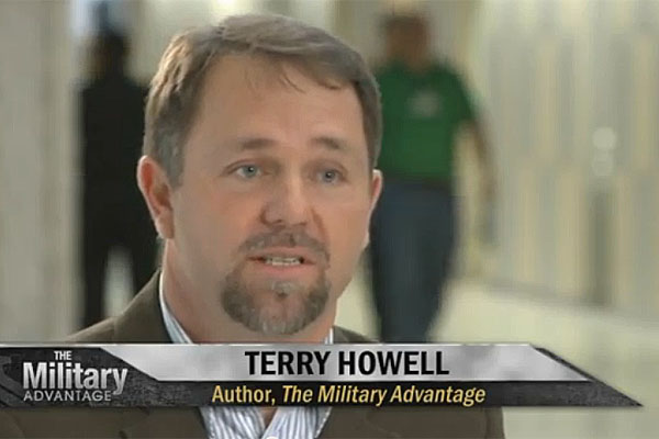 Terry Howell, author of The Military Advantage