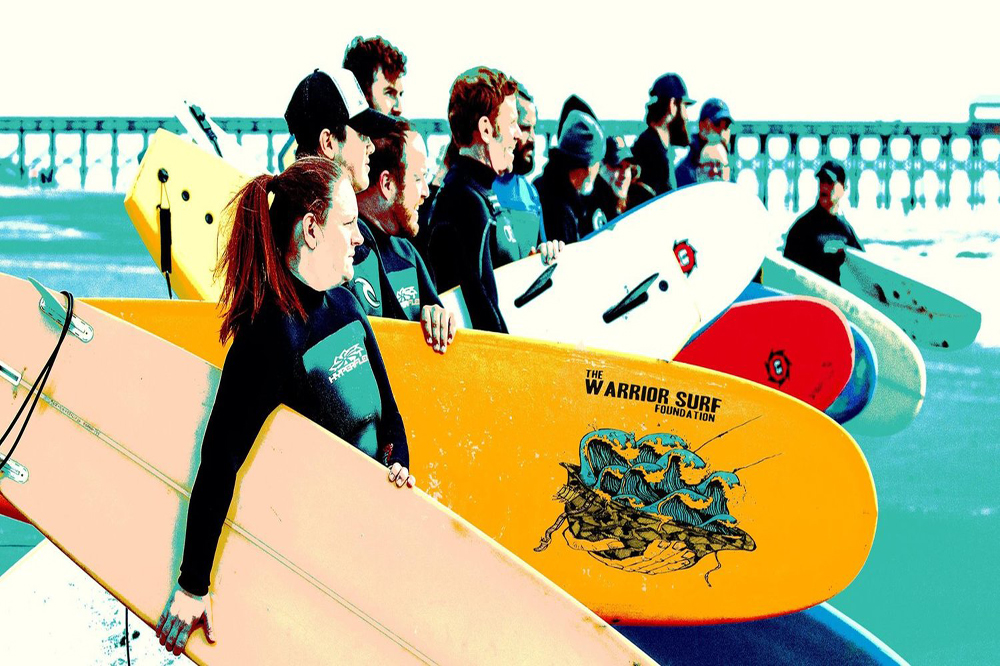 Wounded Warriors Find Solace And Healing In Surfing
