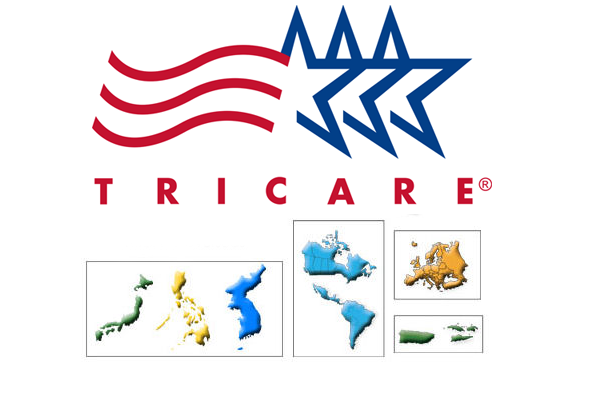 TRICARE overseas service center map