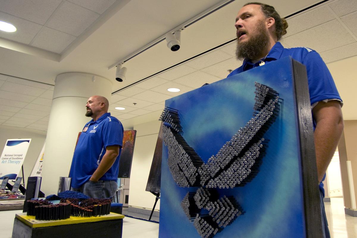 Air Force Veteran Uses Art to Overcome PTSD