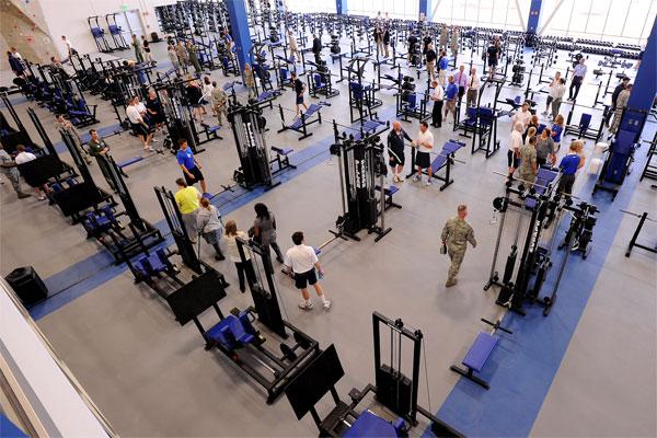 Fitness center 600x400