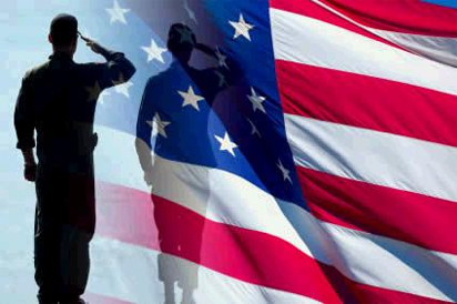 Image result for salute the flag