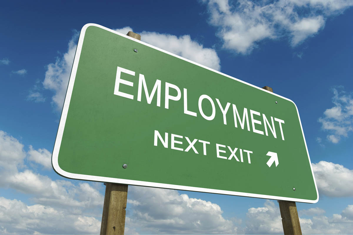 Employment Roadsign