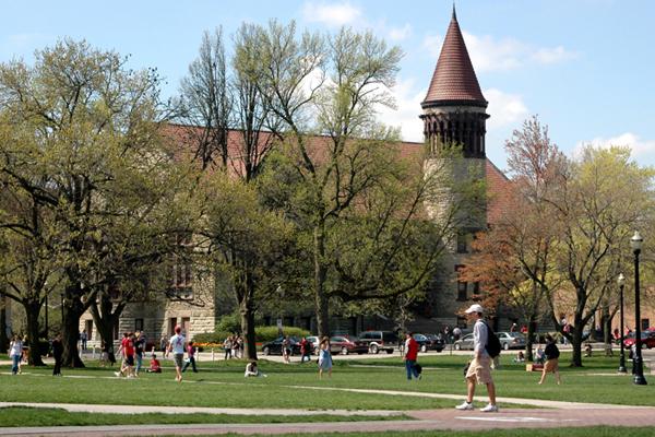 Ohio campus building.