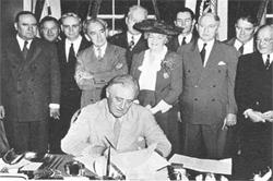 GI Bill Signing 1942