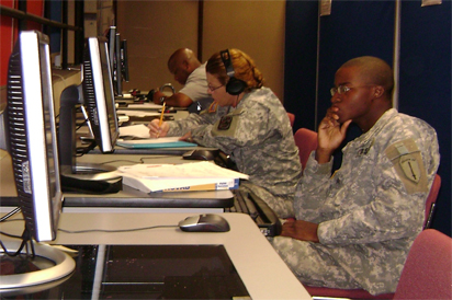 Online Education Soldiers 412x274