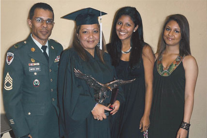 military spouse and diploma
