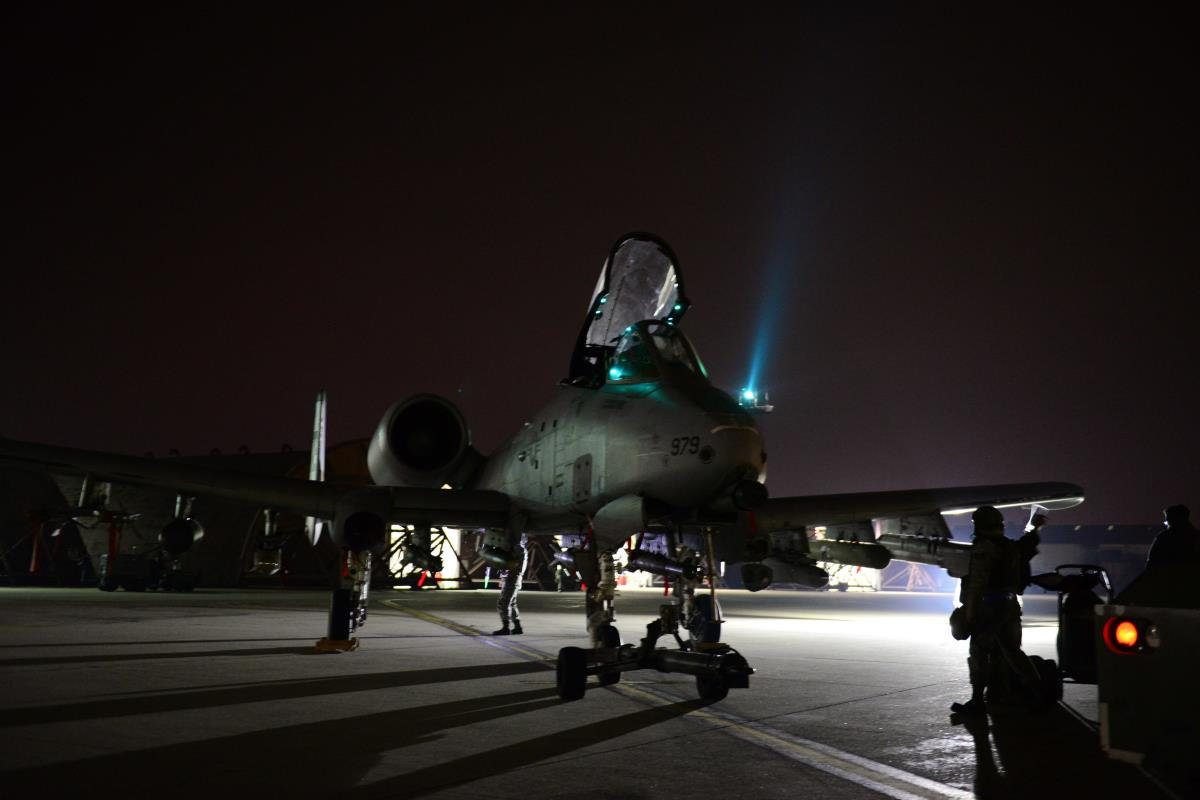 A 10 Gunship Attacks Critical To Taking Town From Isis