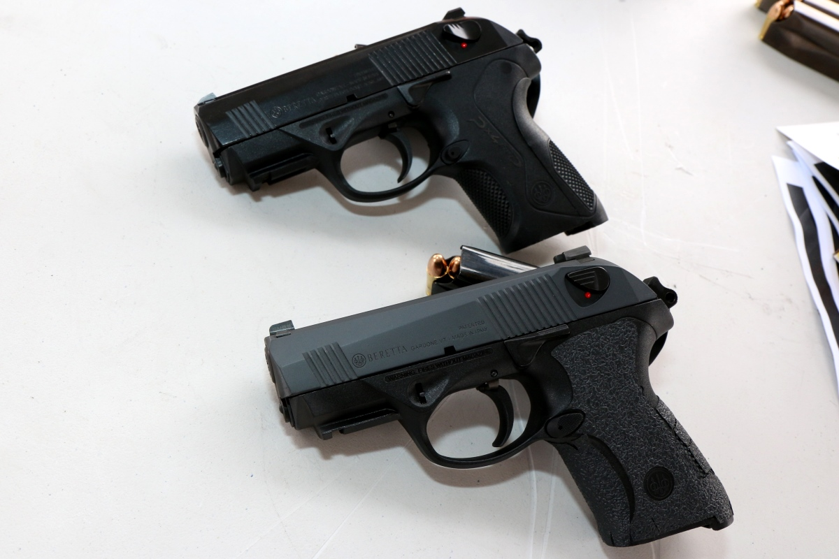 Beretta Unveils Improved Compact 9mm Pistol   Military.com