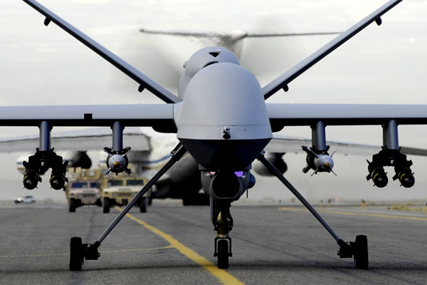 "Military drones may soon acquire the capability to ""smell"" explosives and nuclear weapons. (DoD photo)"
