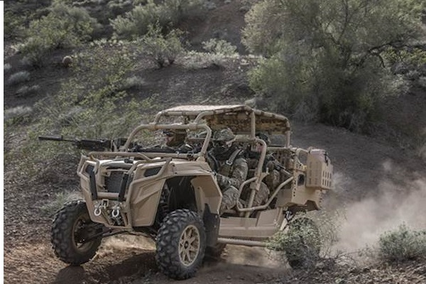 82nd Airborne Division Tests New All Terrain Vehicles In