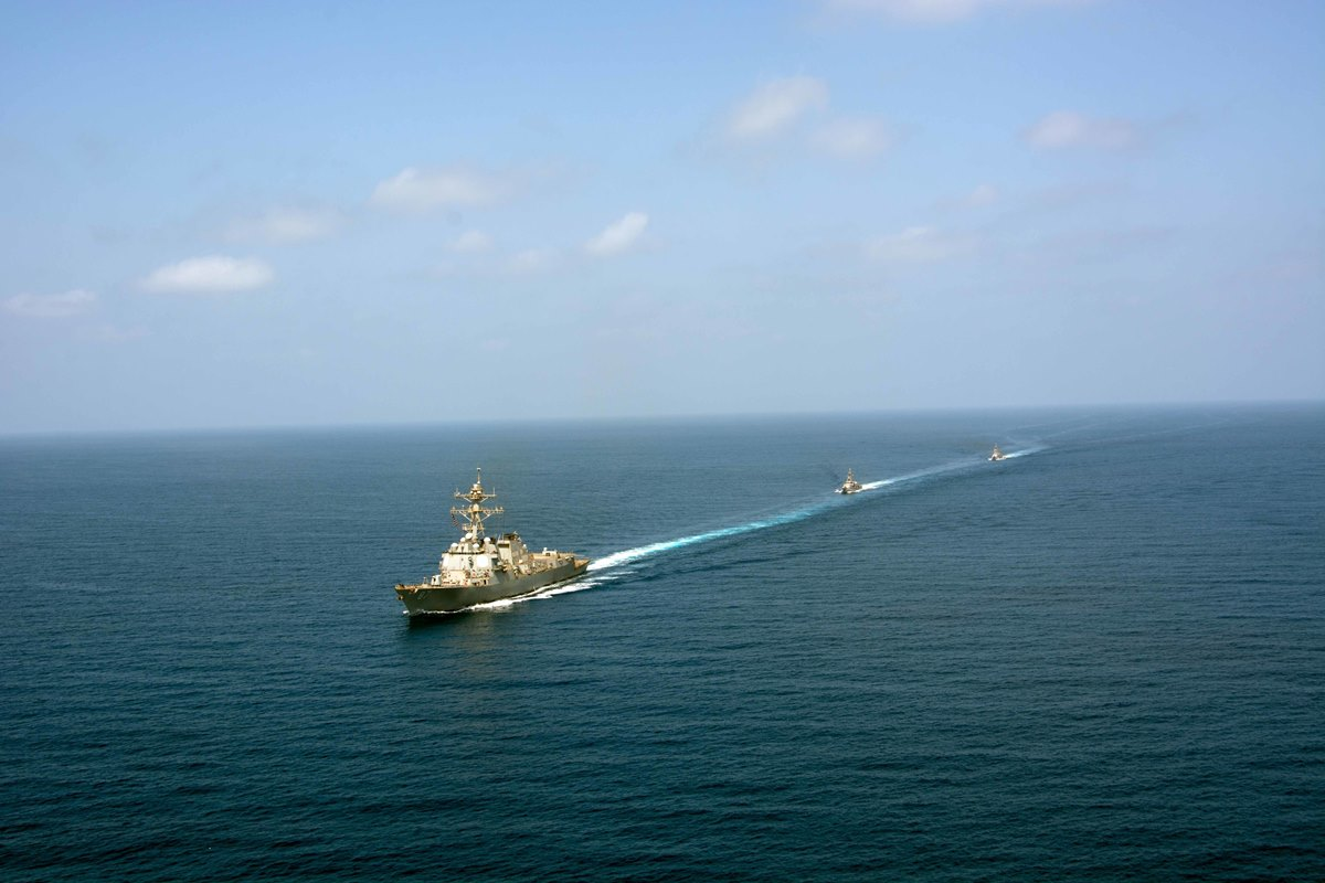 USS Mason Fired on a Third Time Near Yemen, CNO Says