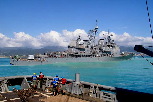 uss port royal returns after 7 months abroad