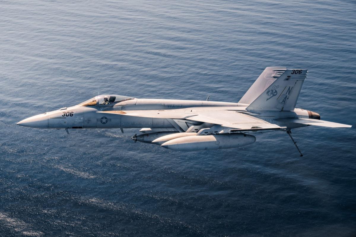 US F/A-18E Shoots Down Syrian Su-22 In Air-to-Air Kill