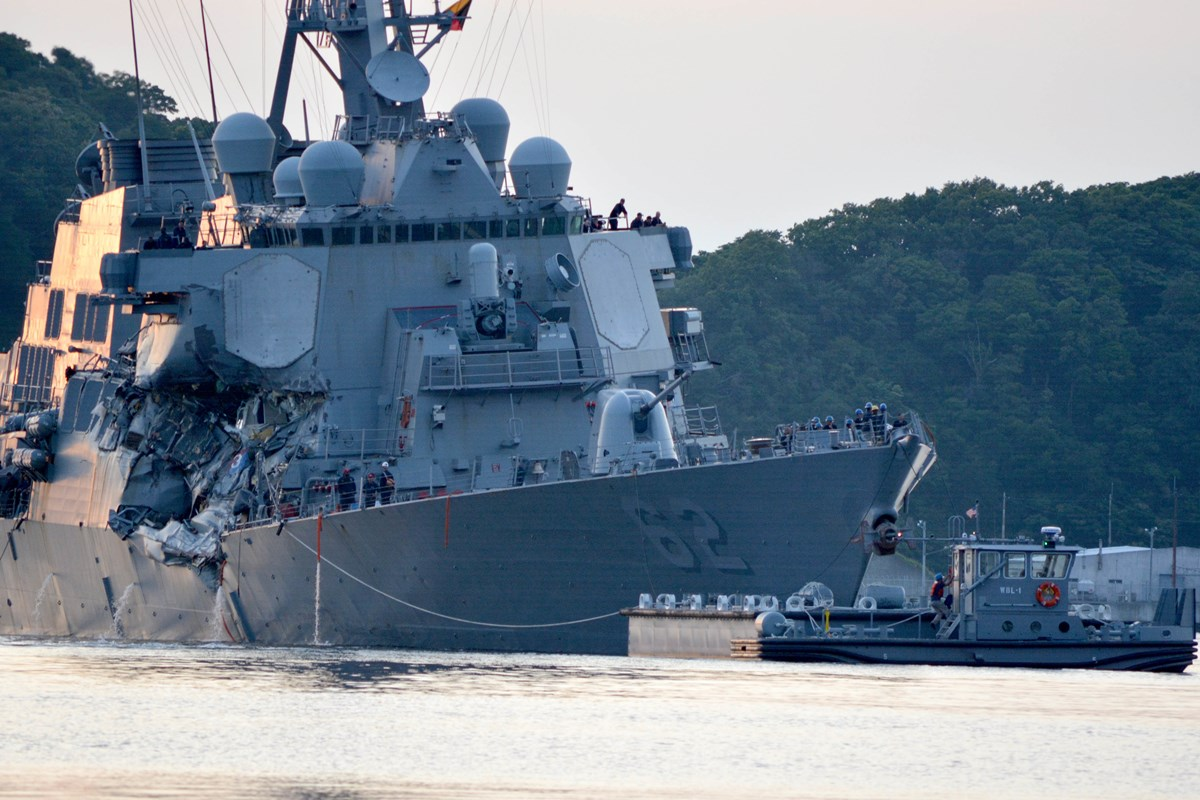 Navy Identifies Sailors Who Died in Ship Collision