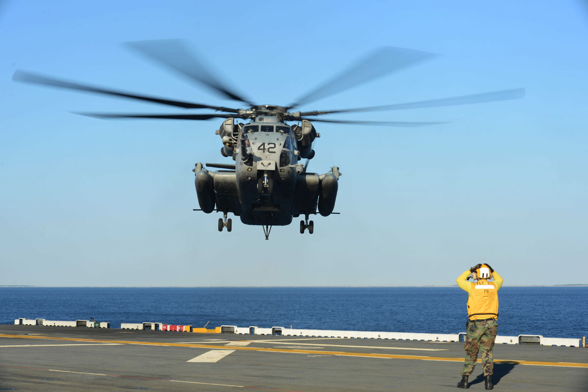 Military Identifies Marine Who Died In Helo Accident