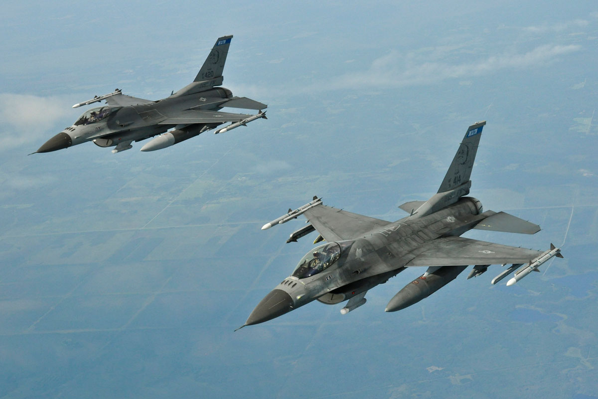 dozens more f 16 fighter jets could be heading to tucson