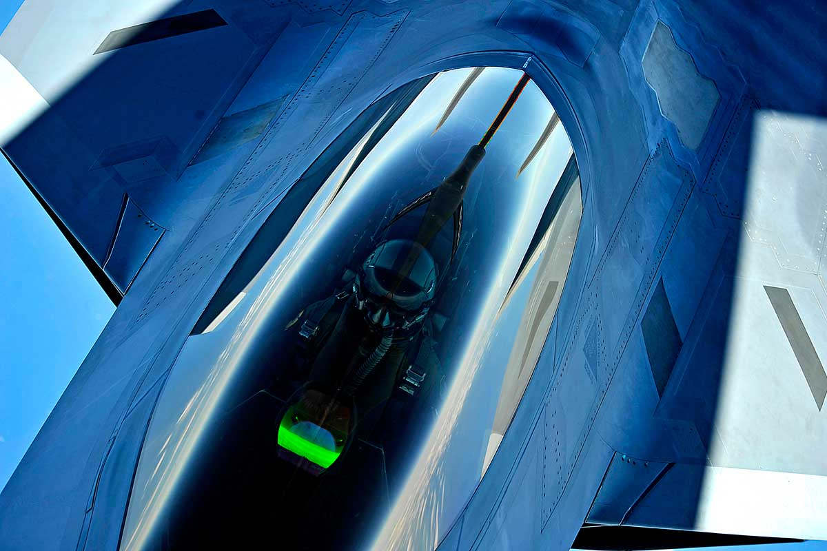 Airman Who Died on Guam ID'd as F-22 Pilot