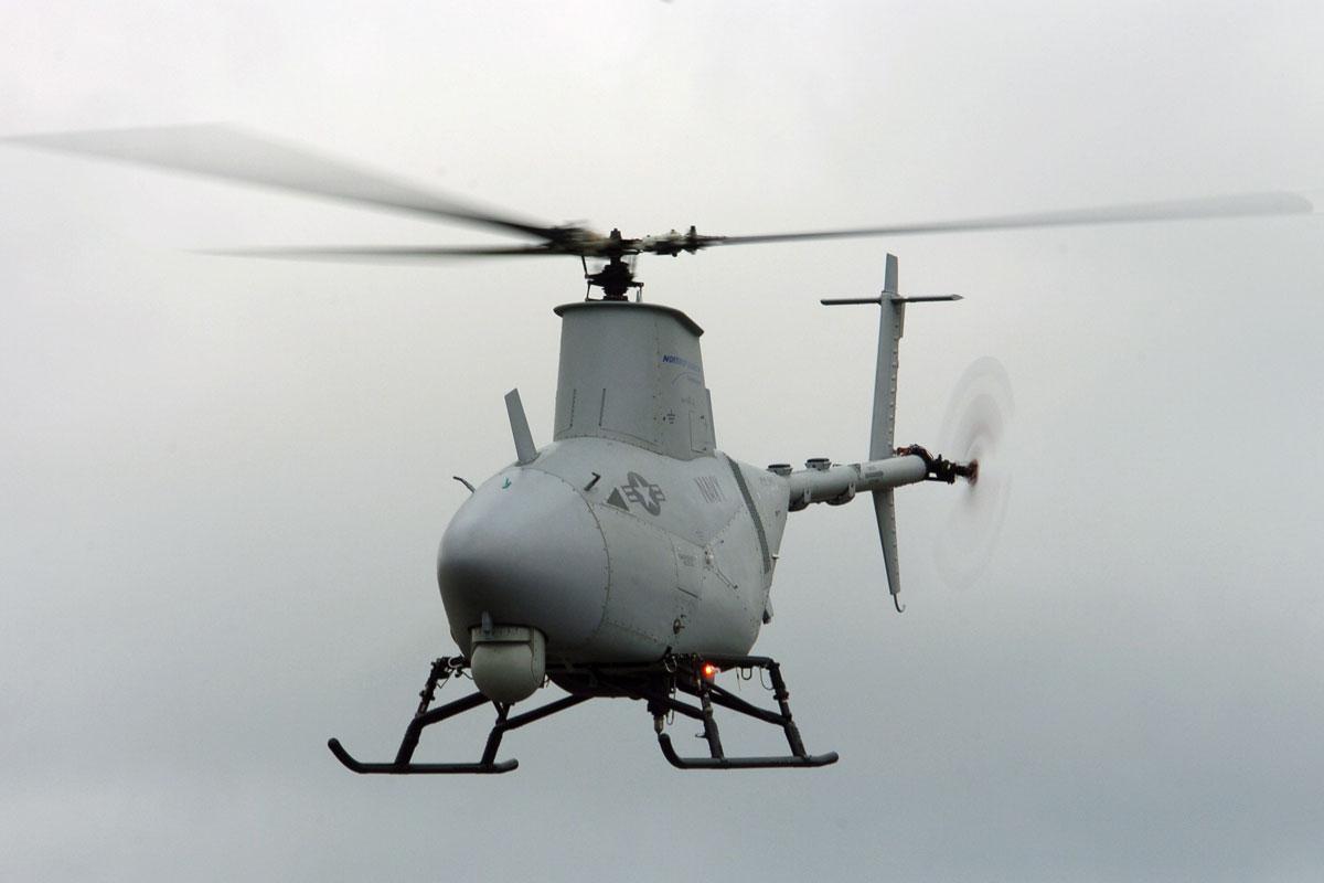Elicottero Drone : R mq fire scout military