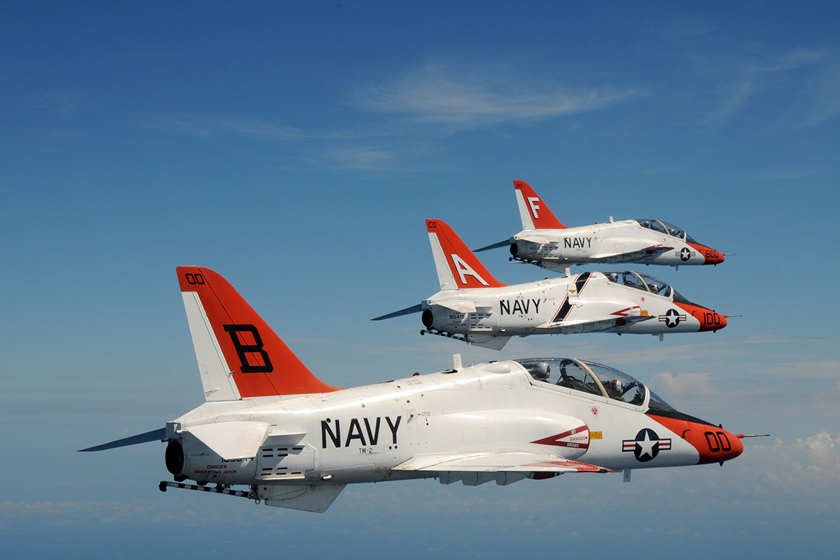 Navy Student Pilots Enter 3rd Month Without T-45 Training Flights
