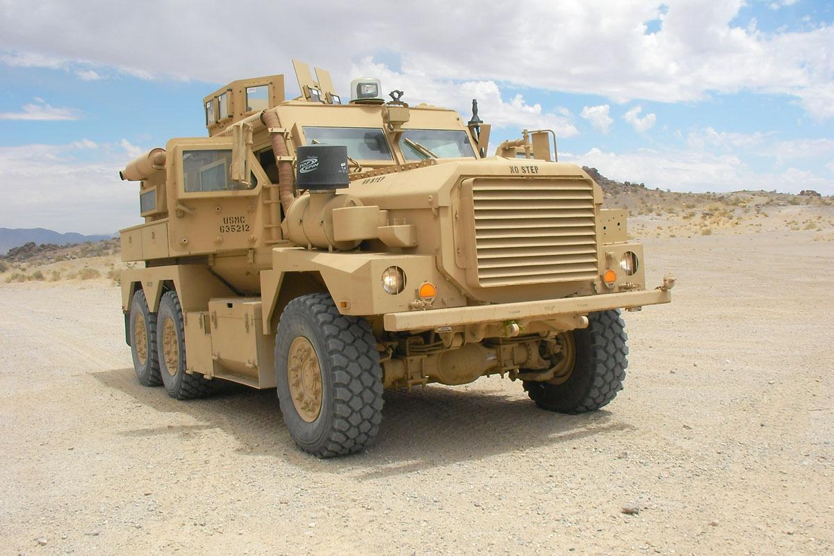 Cougar 6x6 MRAP   Military.com