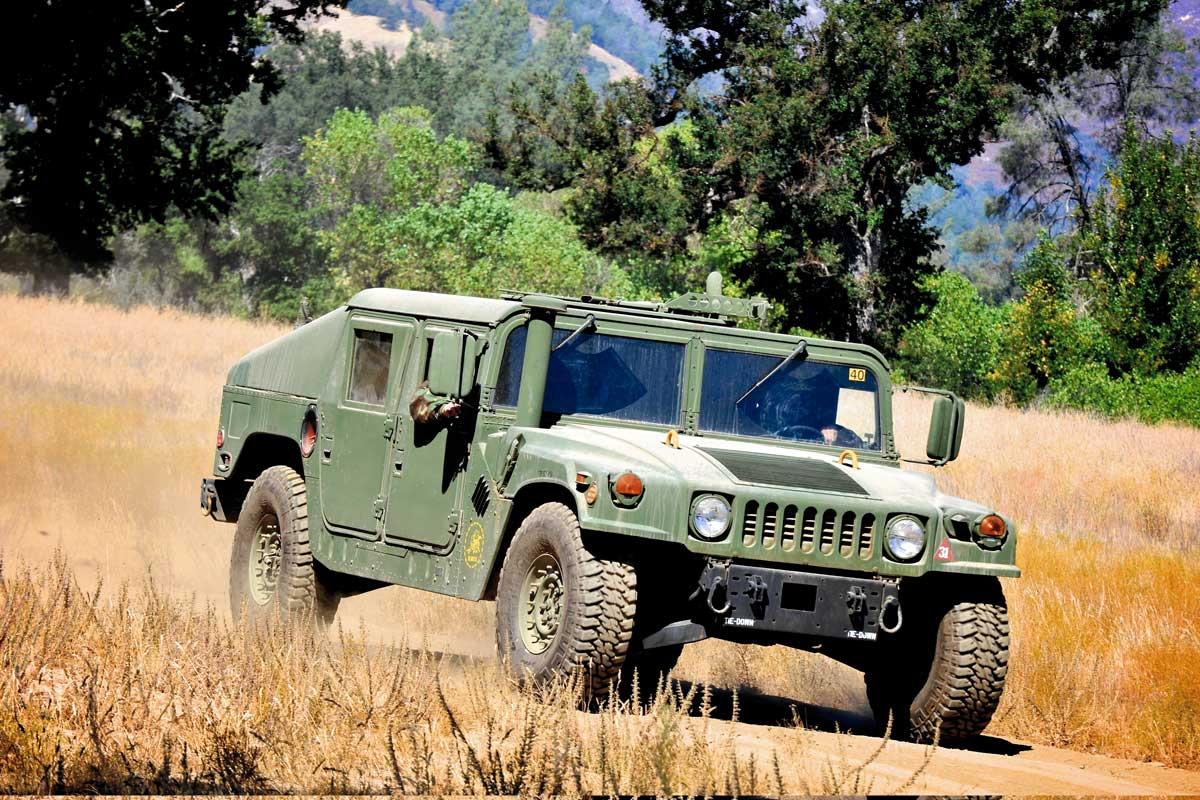Importance of ground guides for trucks for the army