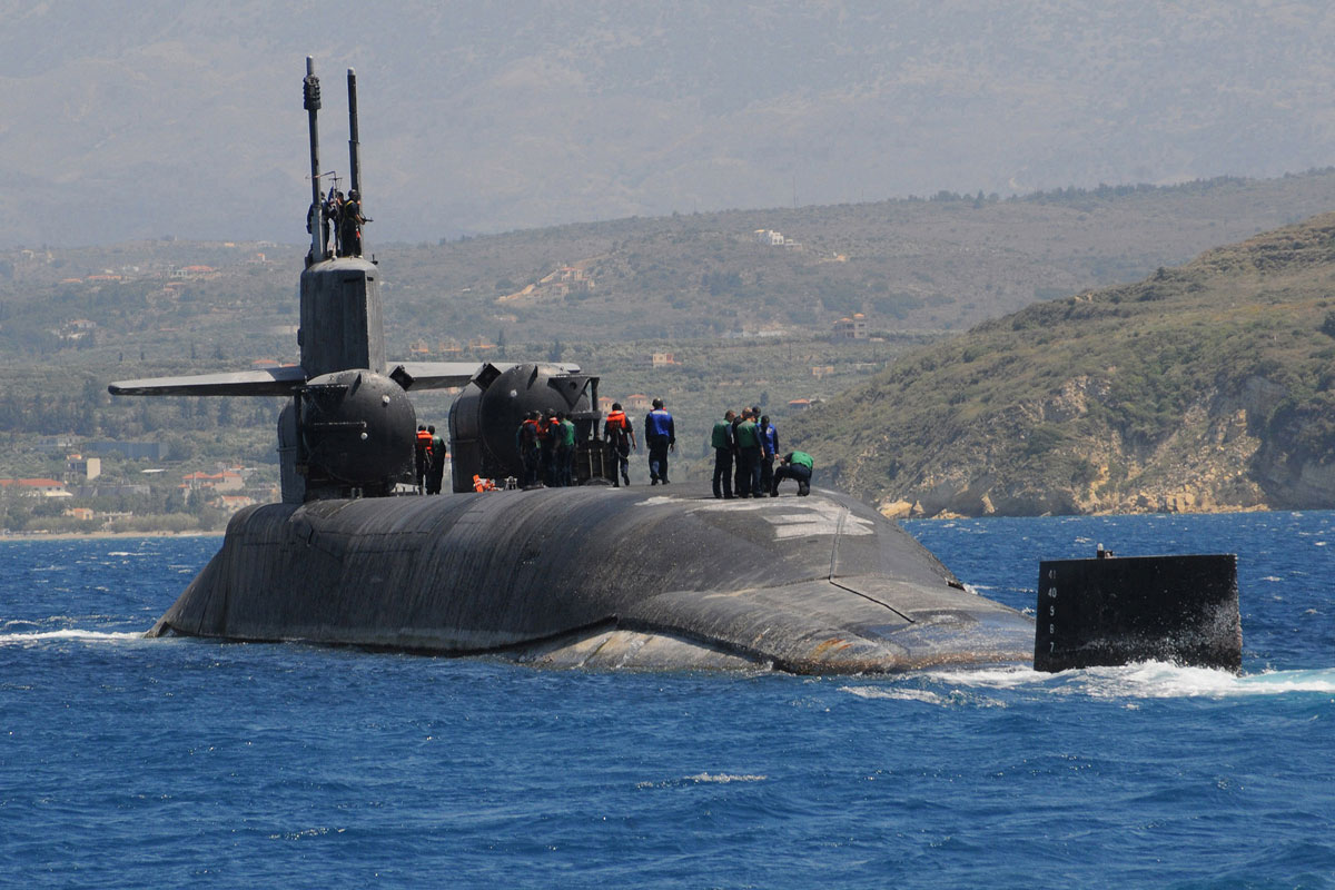 Ssgn Ohio Class Guided Missile Submarine Military Com