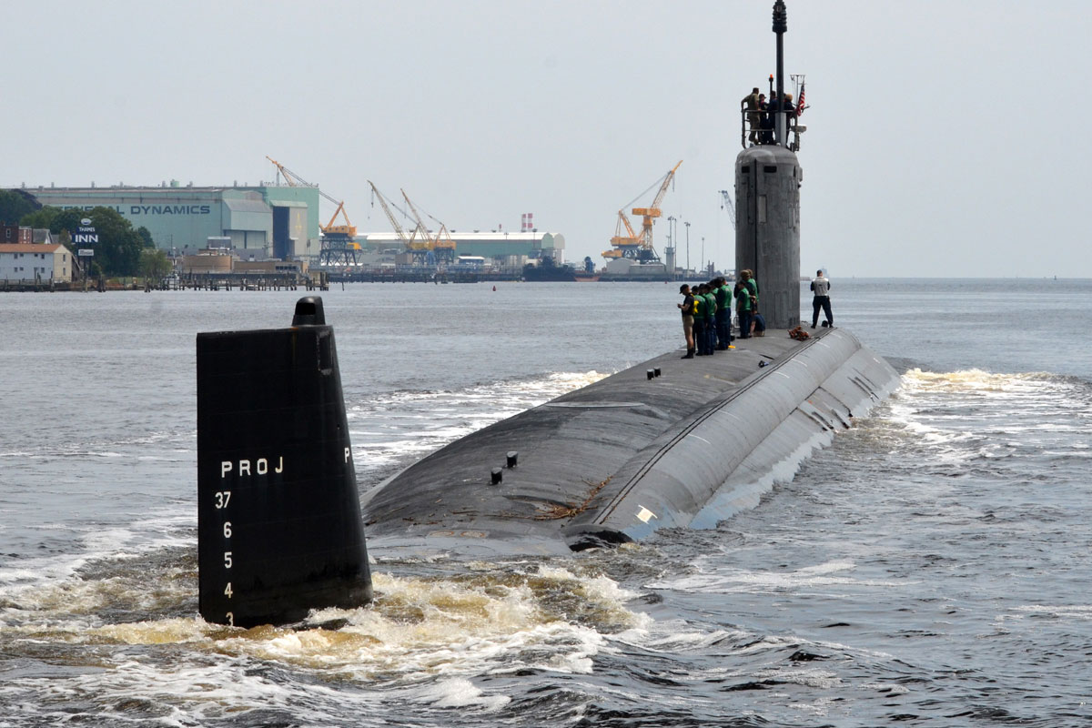 Russia Apparent Us Sub Chased From Barents Sea Military Com