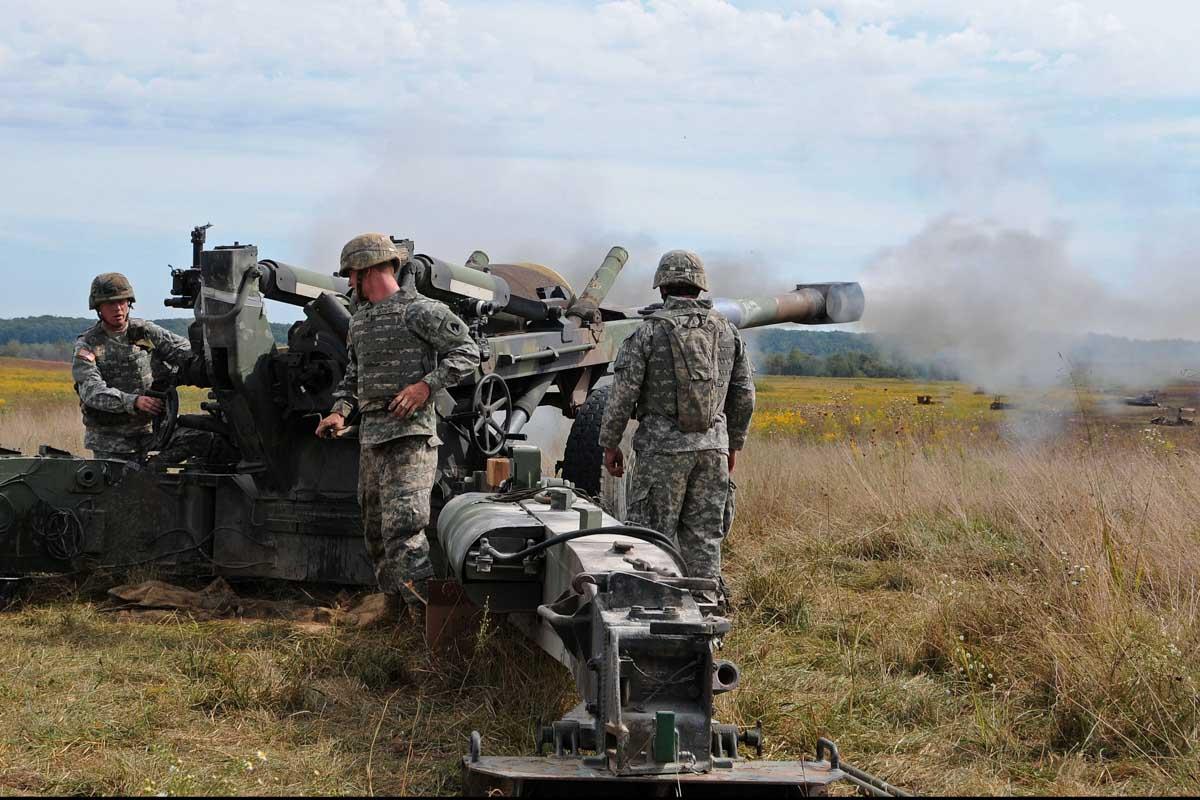 marine corps artillery