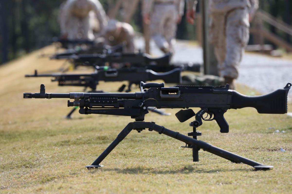 M240l Machine Gun M240B