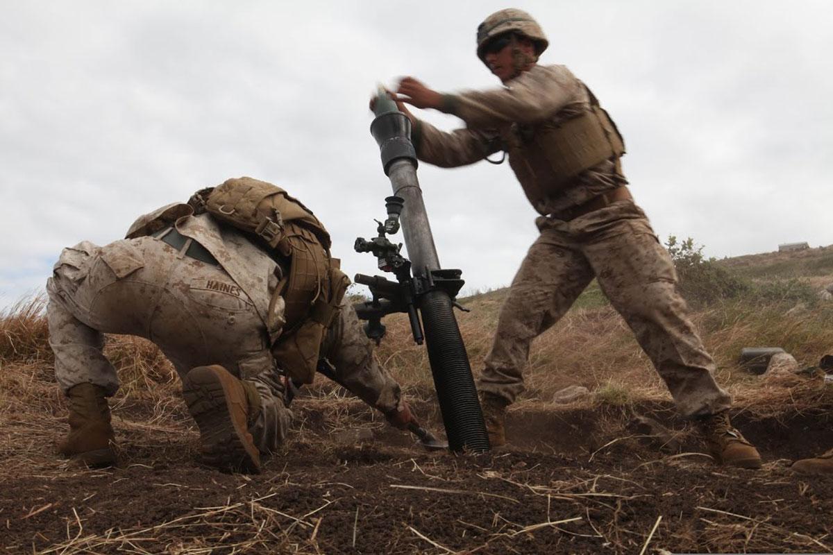 Marine Corps Weapons | Marine World