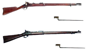 Army rifles from 1872-1902