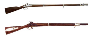 Army rifle from 1833-1850
