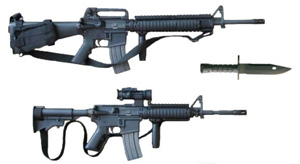 Between 2003 and 2006  American Military Weapons