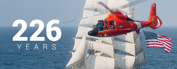 Coast Guard Birthday 2016: 226 Years