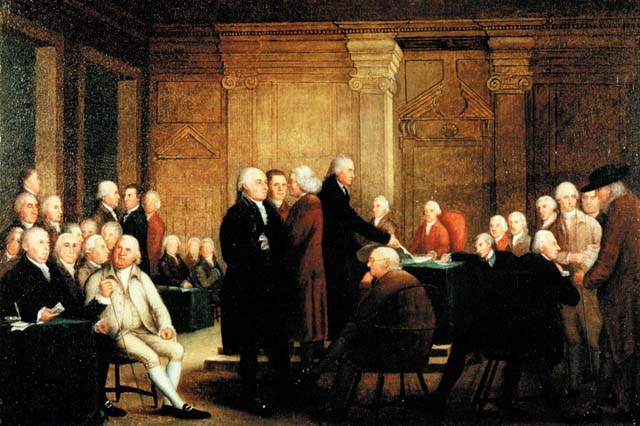 The Signing of the Declaration