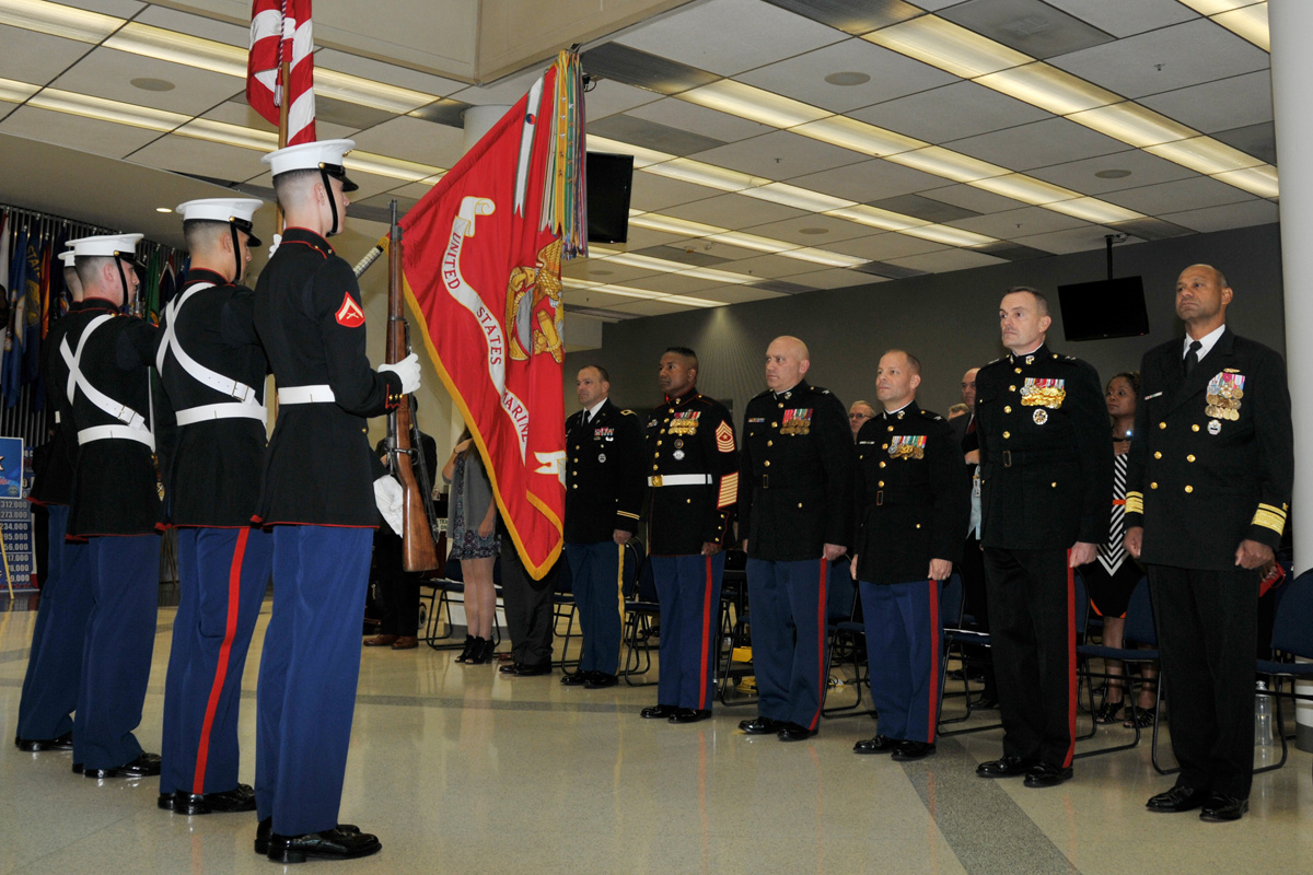 Marines Celebrate 240th Birthday 70th Anniversary Of Iwo