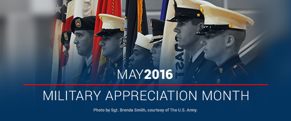 2016 National Military Appreciation Month