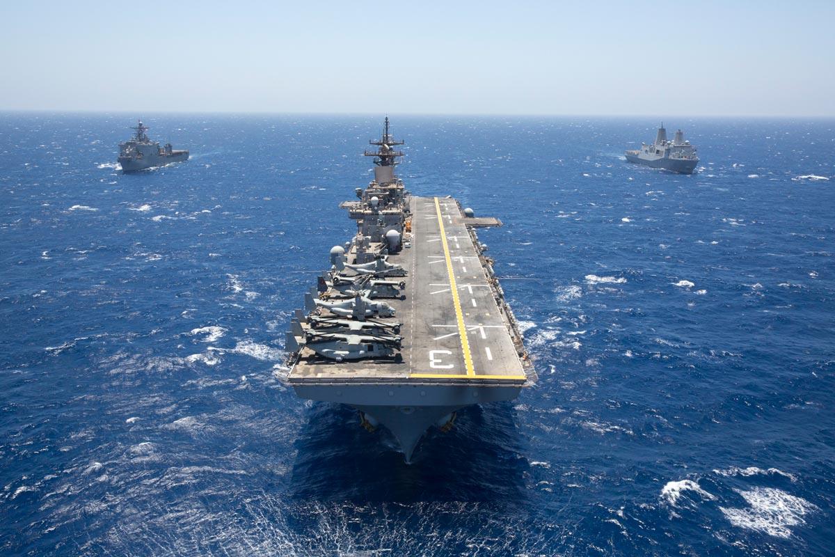 Navy History Quiz Amphibious Assault Ship Uss Kearsarge Navy Photo