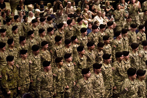 Army Special Forces graduates