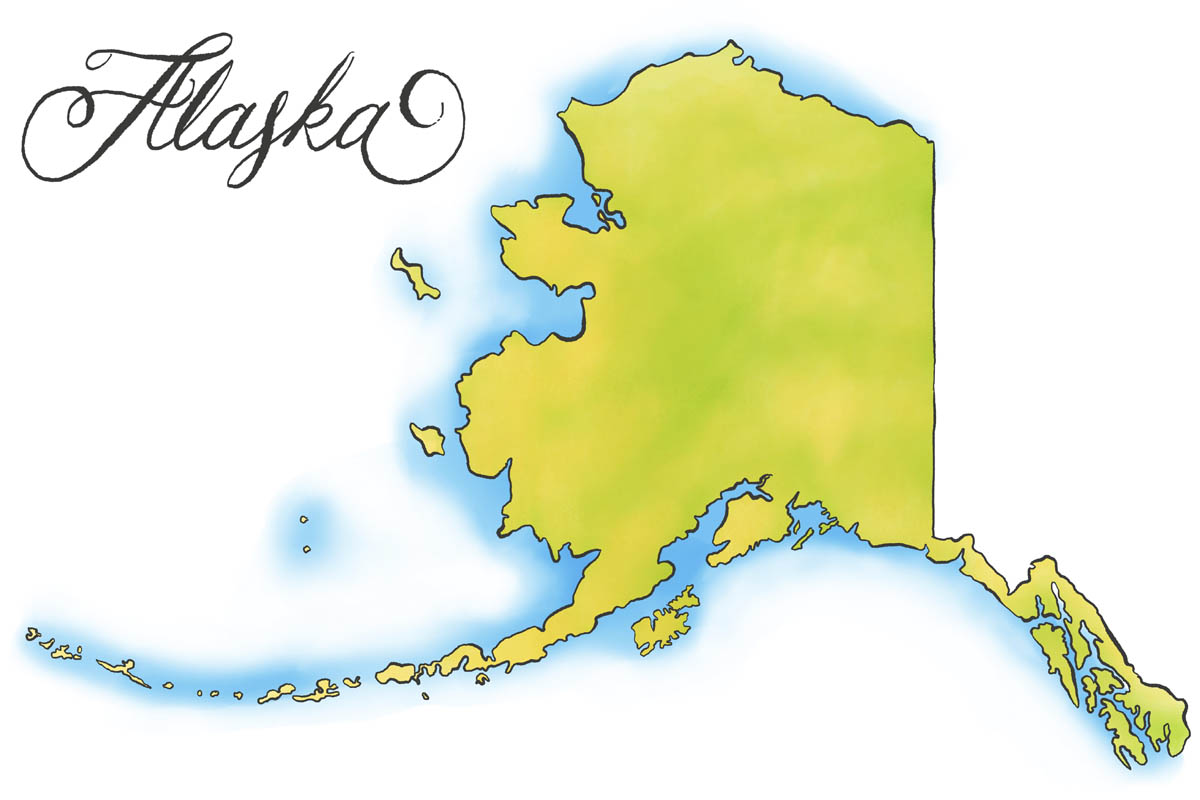 Alaska State Veterans Benefits Militarycom - Alaska state map