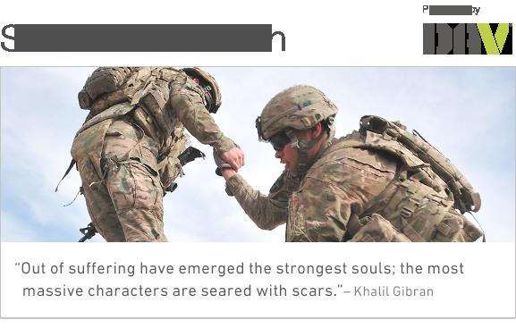 DAV suicide prevention header