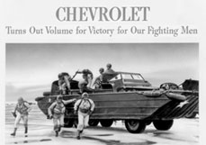 Chevrolet Turns Out Volume for Victory for Our Fighting Men