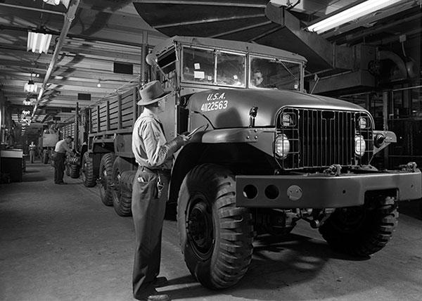 1952 GMC 6x6 Military Cargo Trucks