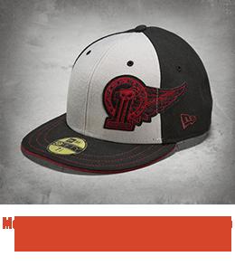 Harley Davidson Men's #1 Winged 59FIFTY Baseball Cap - 99406-15VM