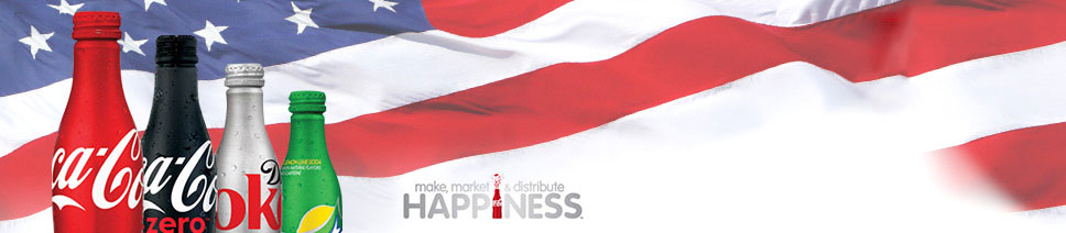 Coca-Cola. Make, market & distribute happiness.