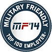 MF '14 Military Friendly Top 100 Employer