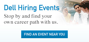 Dell Hiring Events. Stop by and find your own career path with us. Find an Event Near You.