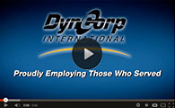 From U.S. Marine Corps to Senior Operations Coordinator at DynCorp International