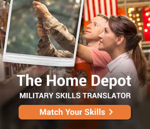 Home Depot Military Skills Translator: Match Your Skills